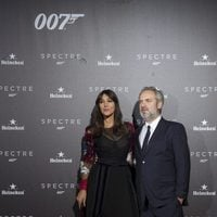 Sam Mendes and Monica Belluci in 'Spectre' premiere in Madrid