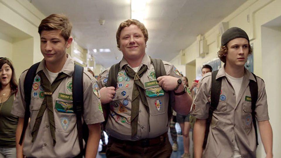 Scouts Guide to the Zombie Apocalypse, fotograma 1 de 4