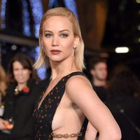 Jennifer Lawrence poses of sensual way in 'The Hunger Games: Mockingjay - Part 2' premiere
