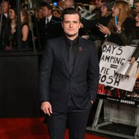 Josh Hutcherson looks serious in 'The Hunger Games: Mockingjay - Part 2' London premiere