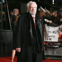 Donald Sutherland shows elegance in 'The Hunger Games: Mockingjay - Part 2' London premiere