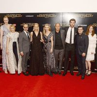 'The Hunger Games: Mockingjay - Part 2' cast in the London premiere