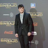 Josh Hutcherson at 'The Hunger Games: Mockingjay - Part 2' Premiere in Madrid