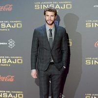 Liam Hemsworth at 'The Hunger Games: Mockingjay - Part 2' in Madrid