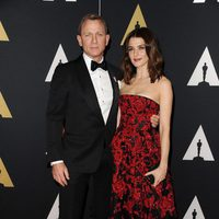 Daniel Craig and Rachel Weisz in Governor's Awards 2015