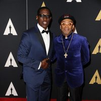 Wesley Snipes and Spike Lee in Governor's Awards 2015