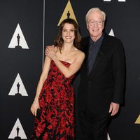 Rachel Weisz and Michael Caine in Governor's Awards 2015