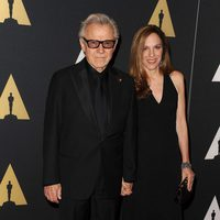 Harvey Keitel and his wife in Governor's Awards 2015