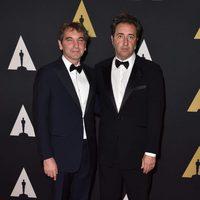 Nicola Giuliano and Paolo Sorrentino in Governor's Awards 2015