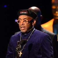 Spike Lee receiving the Academy Honorary Award
