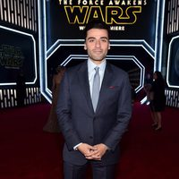 Oscar Isaac in the 'Star Wars: The Force Awakens' World Premiere