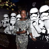 Lupita Nyong'o in the 'Star Wars: The Force Awakens' World Premiere