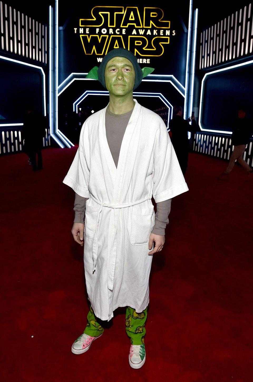 Joseph Gordon-Levitt in the 'Star Wars: The Force Awakens' World Premiere