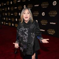 Carrie Fisher in the 'Star Wars: The Force Awakens' World Premiere