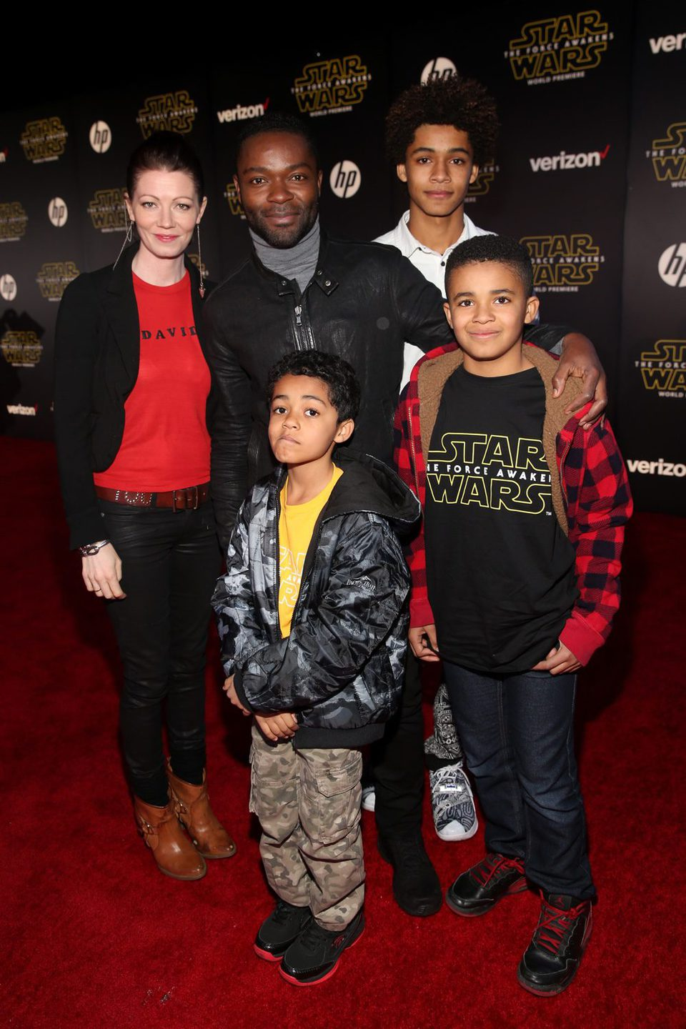 David Oyelowo in the 'Star Wars: The Force Awakens' World Premiere