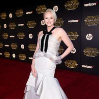 Gwendoline Christie in the 'Star Wars: The Force Awakens' world premiere