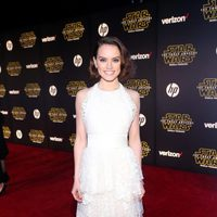 Daisy Ridley in the 'Star Wars: The Force Awakens' World Premiere