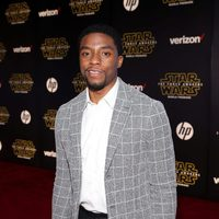 Chadwick Boseman in the 'Star Wars: The Force Awakens' World Premiere