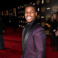 John Boyega in the 'Star Wars: The Force Awakens'  World Premiere