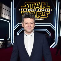 Andy Serkis in the 'Star Wars: The Force Awakens' World Premiere