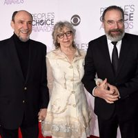 F.Murray Abraham, Mandy Patinkin and Kathryn Grody during the People's Choice Awards 2016