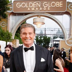 David Hasselhoff at the 2016 Golden Globes red carpet