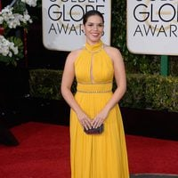 America Ferrera in the 2016 Golden Globes red carpet