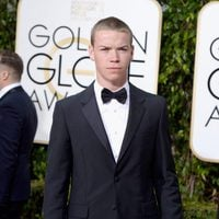 Will Poulter at the 2016 Golden Globes red carpet
