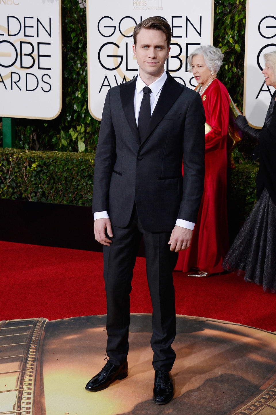 Martin Wallstrom at the 2016 Golden Globes red carpet