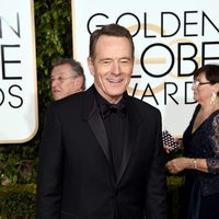Bryan Cranston at the 2016 Golden Globes red carpet