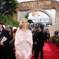 Cate Blanchett in the 2016 Golden Globes red carpet