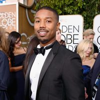 Michael B. Jordan at the 2016 Golden Globes red carpet
