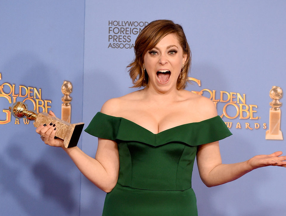 Rachel Bloom wins Golden Globe Award for 'Crazy Exgirlfriend'