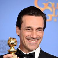 Jon Hamm wins the Golden Globe for 'Mad Men'