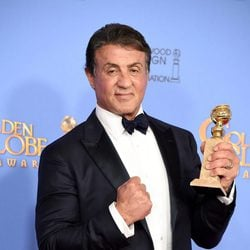 Sylvester Stallone wins the Golden Globe for 'Creed'