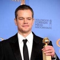 Matt Damon wins the Golden Globe for 'The Martian'