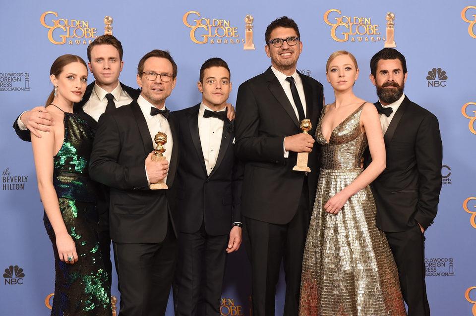 'Mr. Robot' wins the Golden Globe for Best TV Series Drama