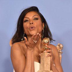 Taraji P. Henson wins the Golden Globe for 'Empire'