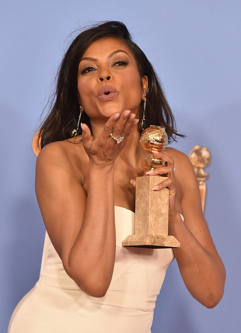 Taraji P. Henson wins the Golden Globe for 'Empire'