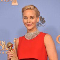 Jennifer Lawrence wins the Golden Globe for 'Joy'