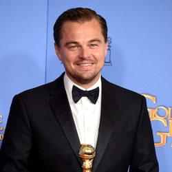 Leonardo DiCaprio wins the Golden Globe for 'The Revenant'