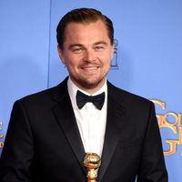 Leonardo DiCaprio wins the Golden Globe for 'The Revenant'