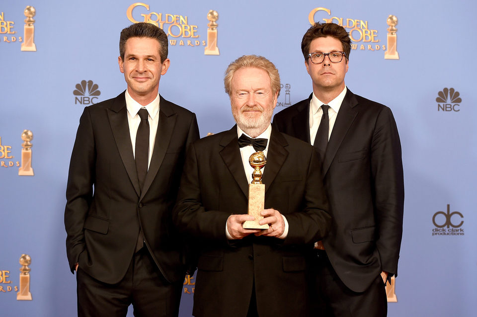 'The Martian' wins the Golden Globe for Best Picture Comedy