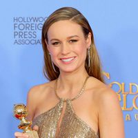 Brie Larson wins the Golden Globe for 'Room'