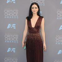 Krysten Rytter on 2016 Critics Choice Awards red carpet