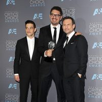 Mr. Robot actors and director on the 2016 Critics Choice awards red carpet