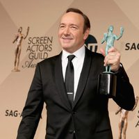 Kevin Spacey, best actor in a drama series at the SAG Awards 2016