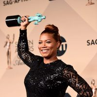 Queen Latifah, best actress in a miniseries at the SAG Awards 2016