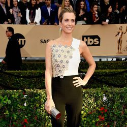 Kristen Wiig in red carpet of SAG Awards 2016