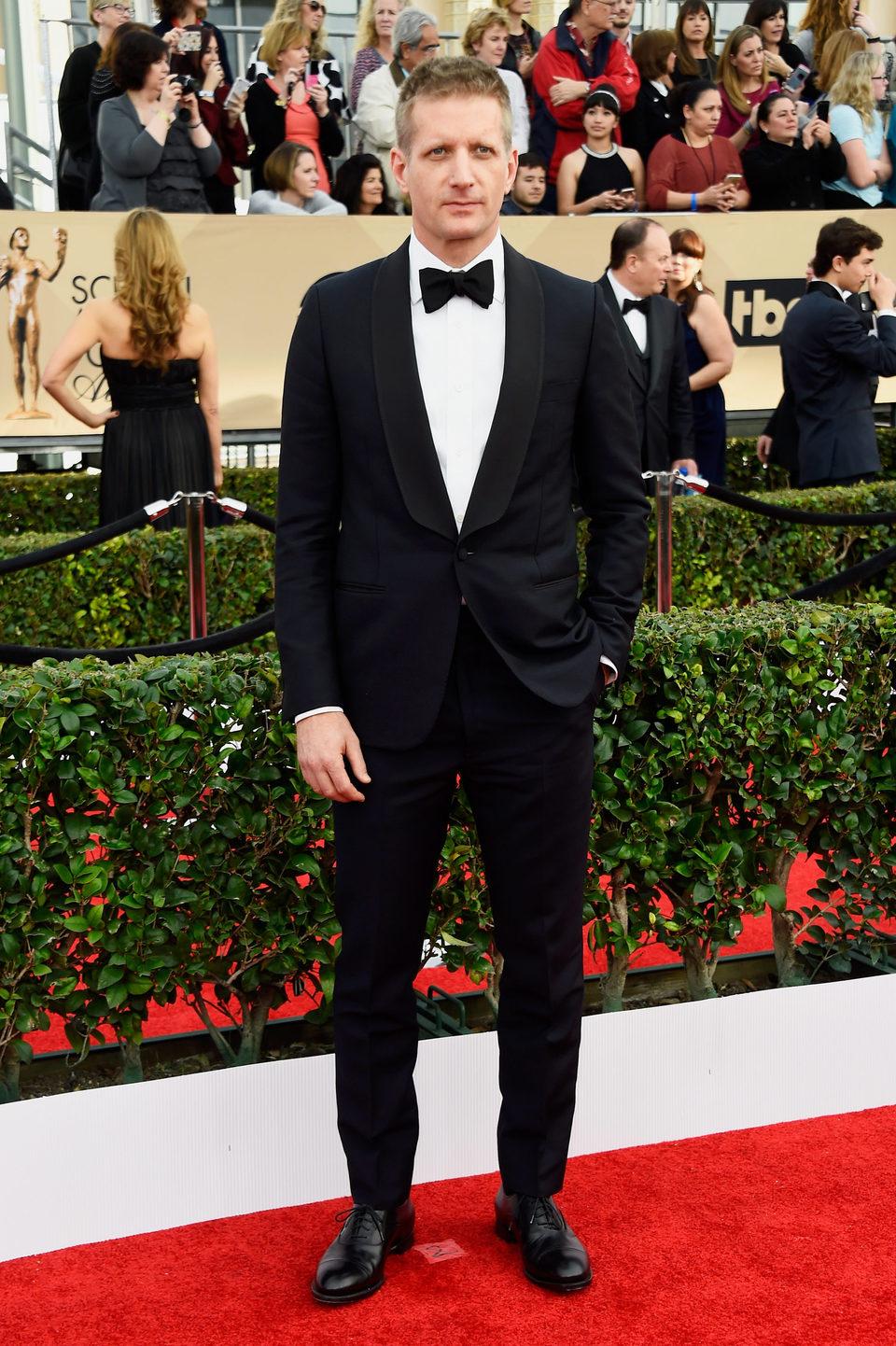 Paul Sparks in red carpet of SAG Awards 2016